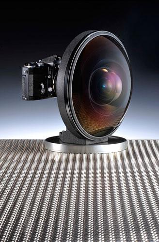 Nikkor fisheye lens