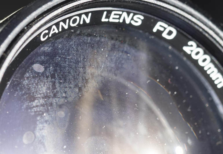 bad condition lens
