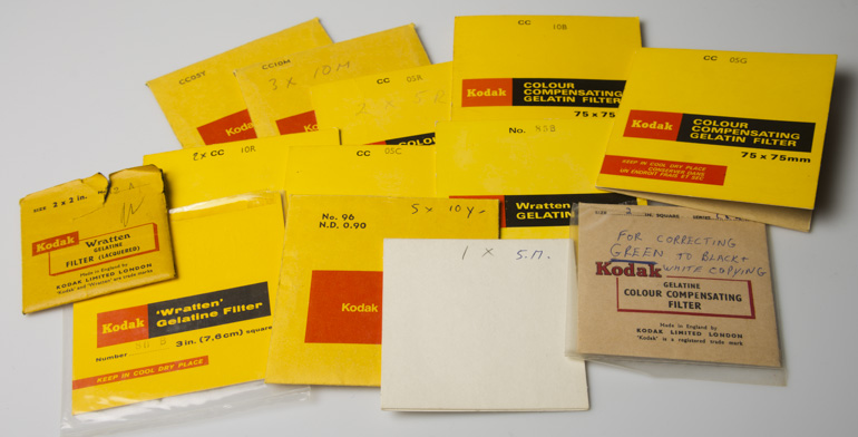 Kodak wratten filters